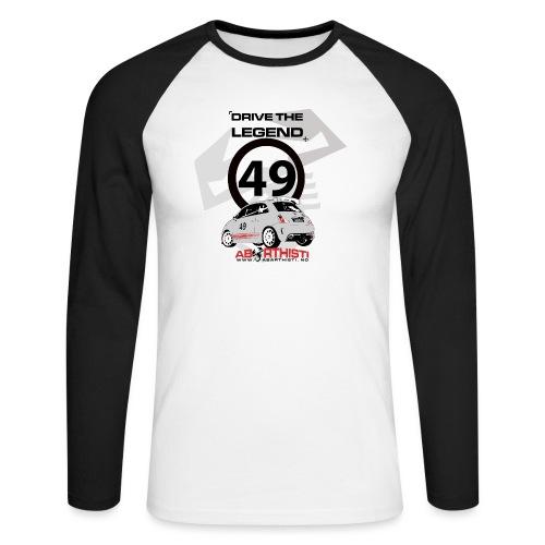 drive the legend - Langermet baseball-skjorte for menn
