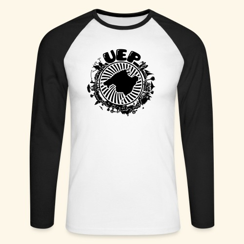 UEP - Men's Long Sleeve Baseball T-Shirt