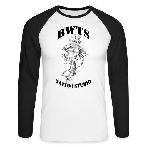 bwtslogoblack - Männer Baseballshirt langarm