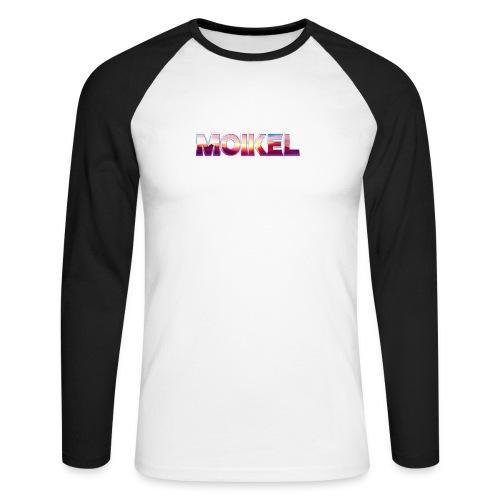 Moikel Rising Sun - Langærmet herre-baseballshirt