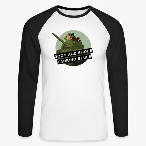logo dogs nieuw - Mannen baseballshirt lange mouw