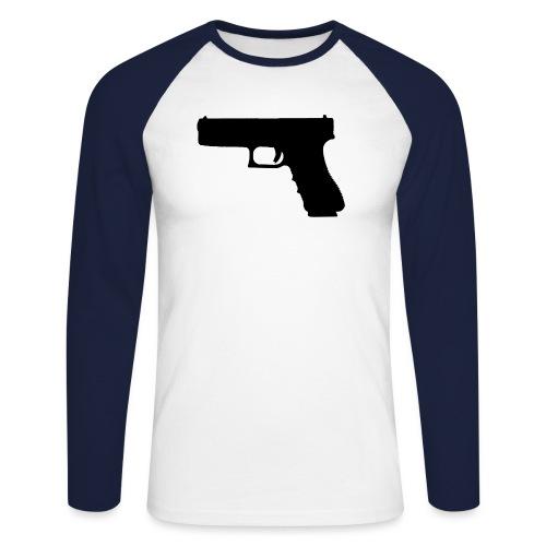 The Glock 2.0 - Men's Long Sleeve Baseball T-Shirt