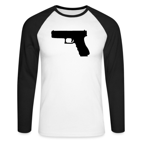 The Glock 2.0 - Men's Long Sleeve Baseball T-Shirt