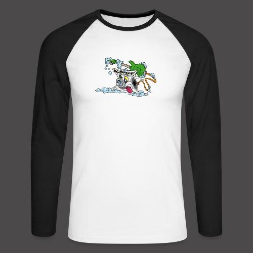 Wicked Washing Machine Wasmachine - Mannen baseballshirt lange mouw