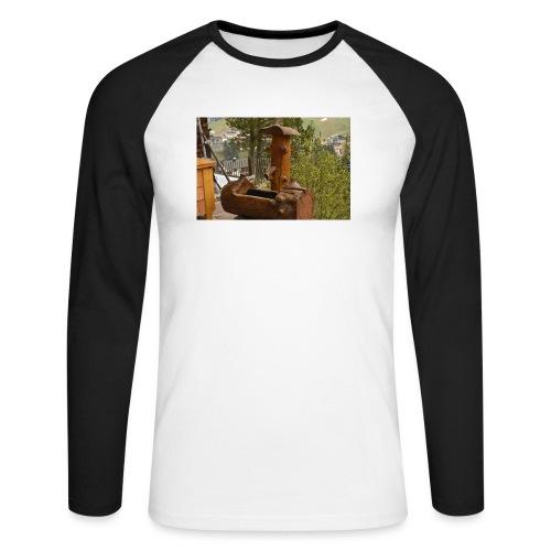 19.12.17 - Männer Baseballshirt langarm