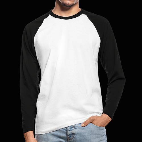 fka team logo white - Miesten pitkähihainen baseballpaita