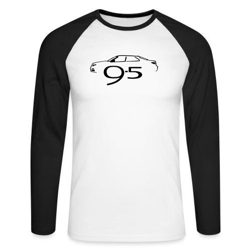 95 2010 - Men's Long Sleeve Baseball T-Shirt