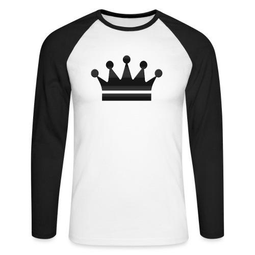 crown - Mannen baseballshirt lange mouw