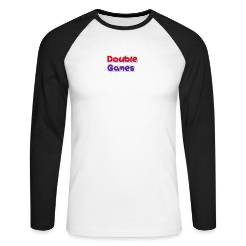 Double Games Tekst - Mannen baseballshirt lange mouw
