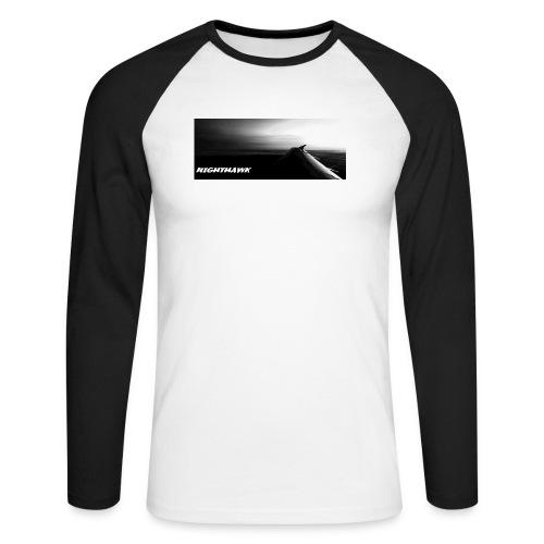 Nighthawk - Männer Baseballshirt langarm