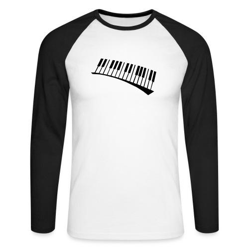 Piano - Raglán manga larga hombre