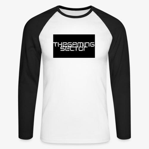 TheGamingSector Merchandise - Men's Long Sleeve Baseball T-Shirt