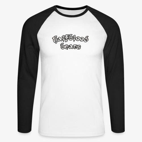 WITTE BRIEVEN - Mannen baseballshirt lange mouw