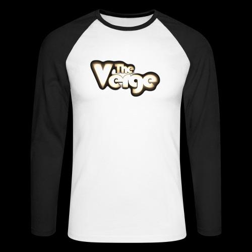 TV logo 005 - T-shirt baseball manches longues Homme