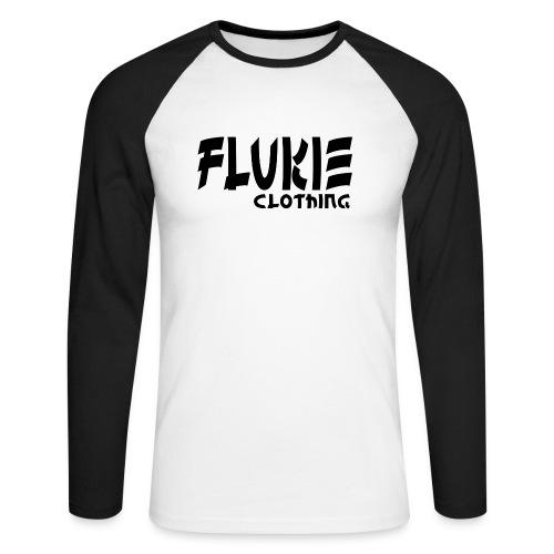 Flukie Clothing Japan Sharp Style - Men's Long Sleeve Baseball T-Shirt