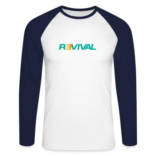 revival - Men's Long Sleeve Baseball T-Shirt