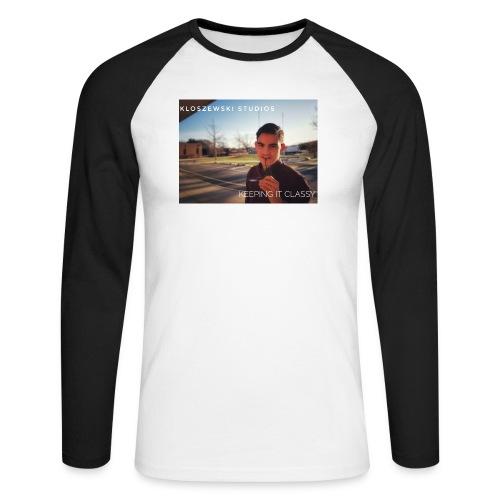 Keep it classy - Männer Baseballshirt langarm