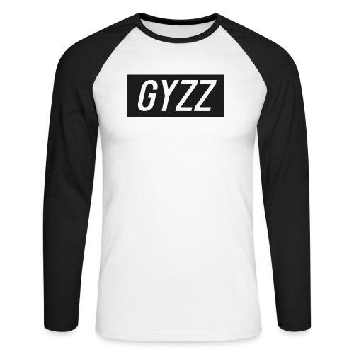 Gyzz - Langærmet herre-baseballshirt