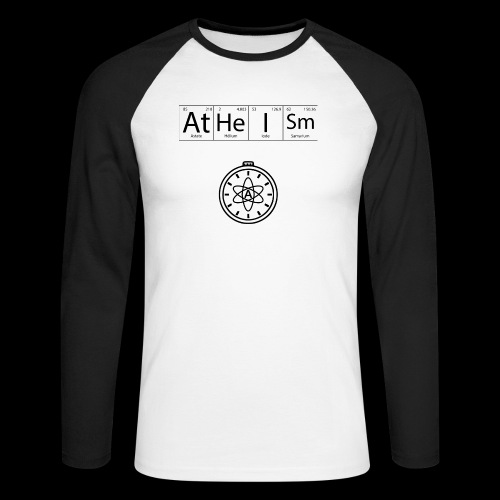 AtHeISm - T-shirt baseball manches longues Homme