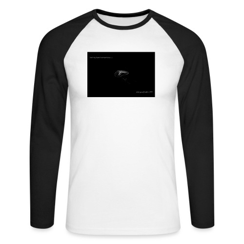 Lost Ma Heart - Men's Long Sleeve Baseball T-Shirt