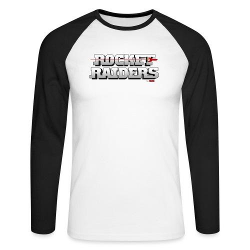 patame Rocket Raiders Logo - Männer Baseballshirt langarm