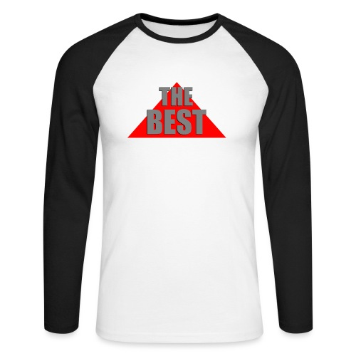 The Best, by SBDesigns - T-shirt baseball manches longues Homme