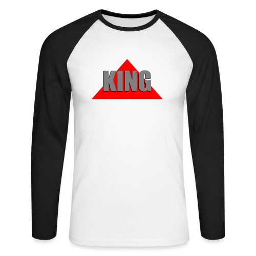 King, by SBDesigns - T-shirt baseball manches longues Homme