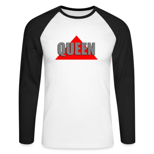 Queen, by SBDesigns - T-shirt baseball manches longues Homme