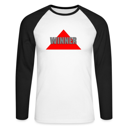 Winner, by SBDesigns - T-shirt baseball manches longues Homme