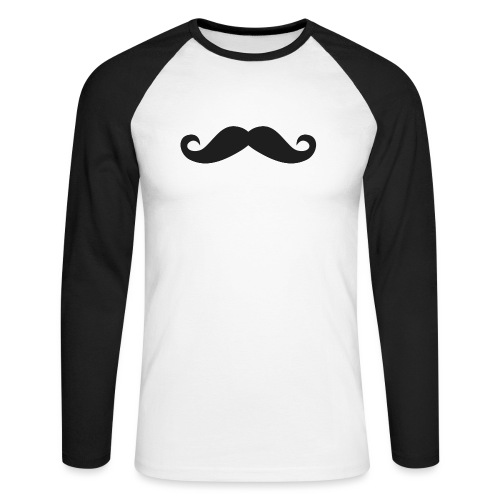 snorretje - Mannen baseballshirt lange mouw