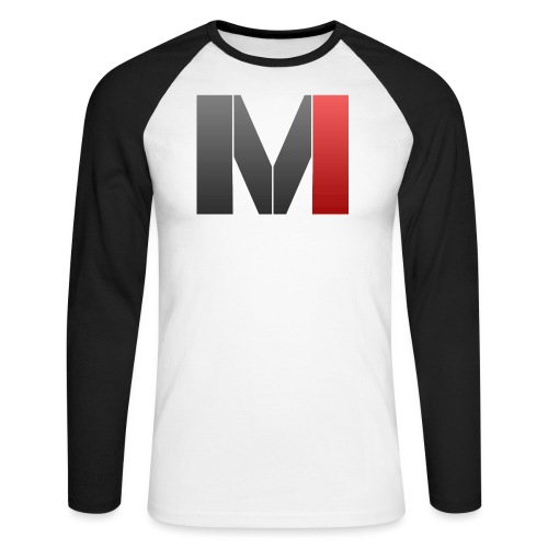 MrGank LOGO - Men's Long Sleeve Baseball T-Shirt