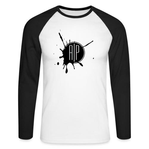 Atomic-Print - T-shirt baseball manches longues Homme