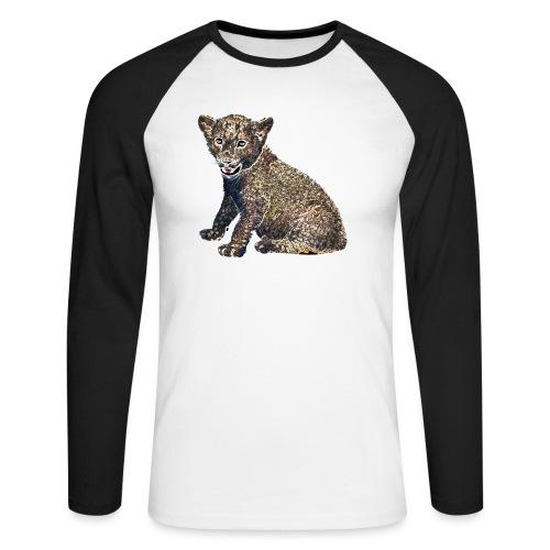 Lil Lion - Men's Long Sleeve Baseball T-Shirt