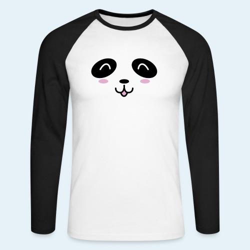 Cachorro panda (Cachorros) - Raglán manga larga hombre