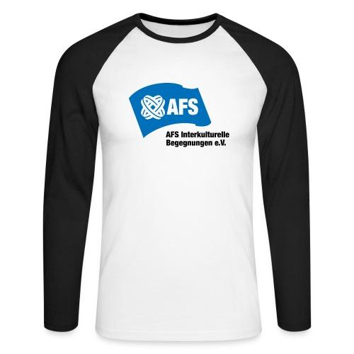 AFS-Logo - Männer Baseballshirt langarm