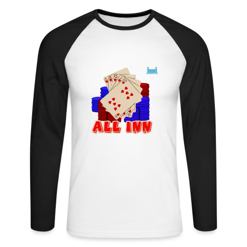 Royal Flush - Men's Long Sleeve Baseball T-Shirt
