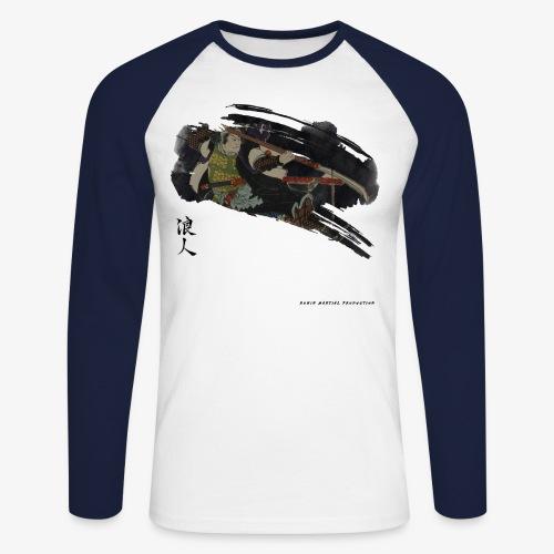 BUSHI - Japan warrior - T-shirt baseball manches longues Homme