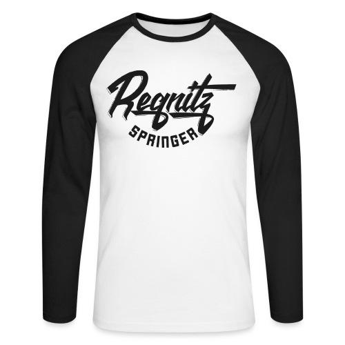 Regnitz Springer - Männer Baseballshirt langarm