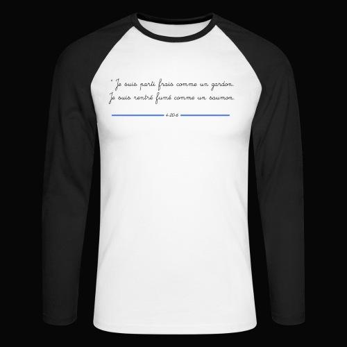 motif 7 jpg - T-shirt baseball manches longues Homme