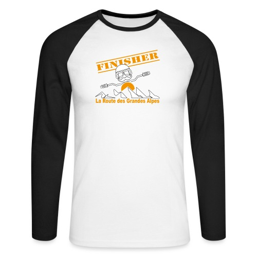 Finisher motofree - T-shirt baseball manches longues Homme