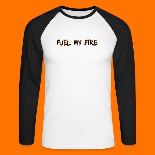 FMF logo png - Men's Long Sleeve Baseball T-Shirt