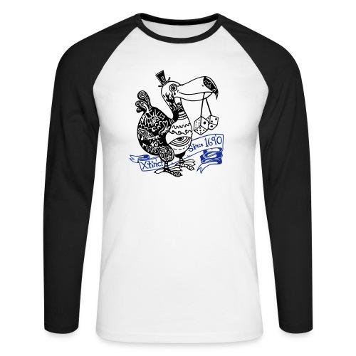 Dronte - Männer Baseballshirt langarm