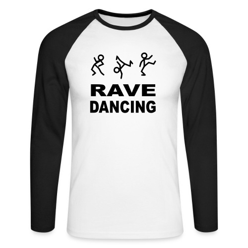Rave Dancing - Men's Long Sleeve Baseball T-Shirt