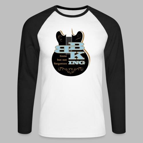 B.B. King - Männer Baseballshirt langarm