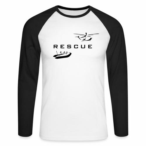 rescue - Men's Long Sleeve Baseball T-Shirt