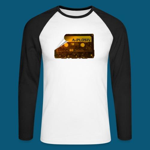 SUNSET MUSIC png - Männer Baseballshirt langarm