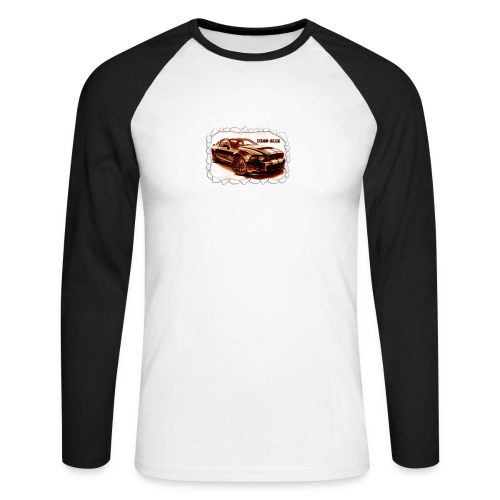 voiture - T-shirt baseball manches longues Homme