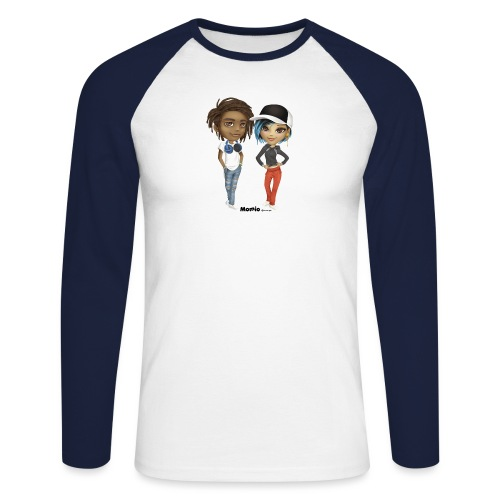Maya & Noa - Langærmet herre-baseballshirt
