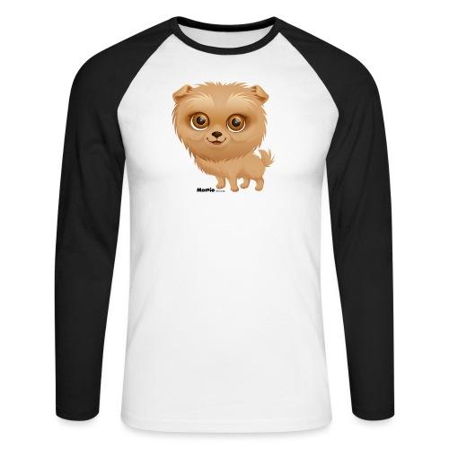 Dog - Langærmet herre-baseballshirt