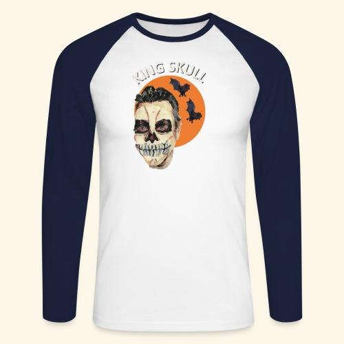 Totenkopf Nahtoderfahrung Mystik - Männer Baseballshirt langarm